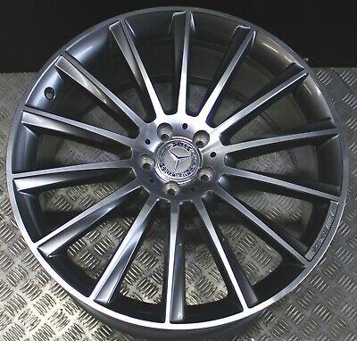 1x Mercedes Alufelge AMG GLE Coupé C292 W166 10Jx22 ET56 A2924011800 Grau