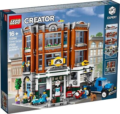 LEGO EXPERT, CREATOR  CORNER GARAGE `MISB, BRAND NEW, SEALED*  FREE SHIPPING!!