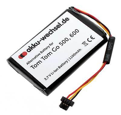 Hochleistungs-Akku für TomTom Go 500 und Tom Tom Go 600 | VF6D | 1100mAh