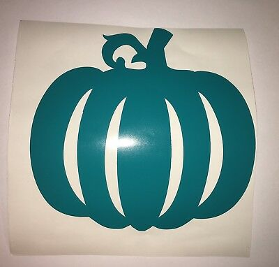 Teal Pumpkin Project Inspired Food Nut Peanut Allergy Friendly Decal For Window](Halloween Decorations For Windows)