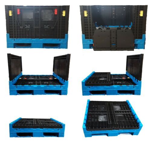 48x45x34 Plastic Bulk Collapsible Container