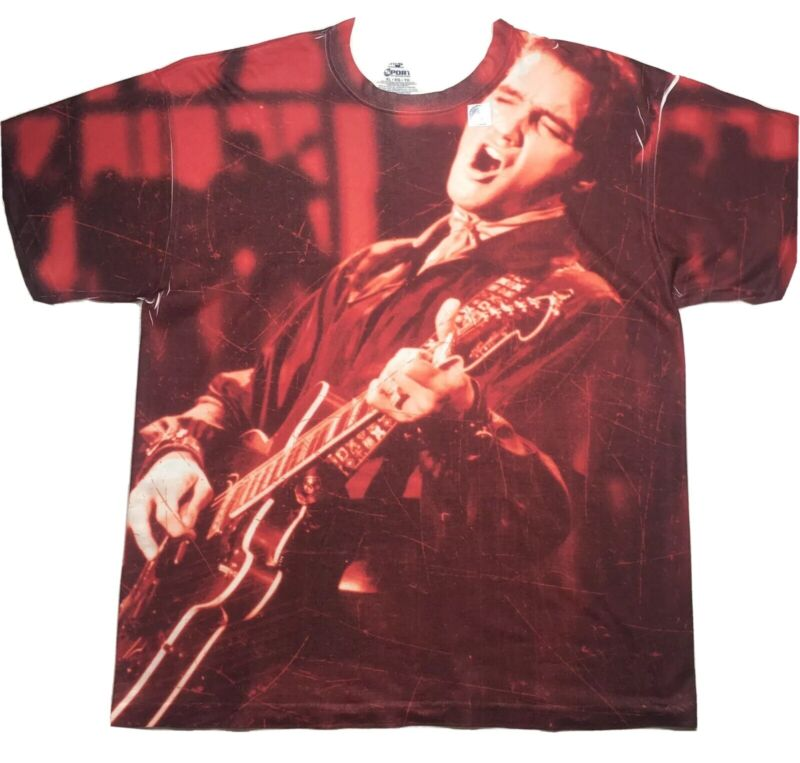 Elvis Presley Size XL Jerzees Sport Signature Product Dye Sublimated The King