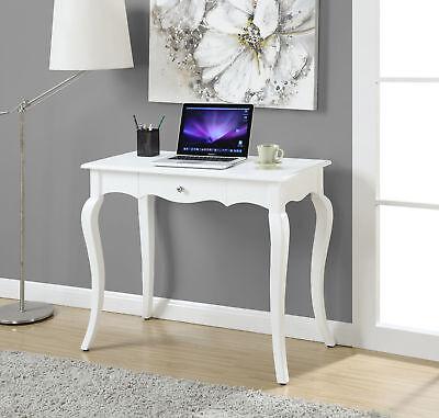 "French Provence 36"" Desk 7102196W, Chalk-white Finish"