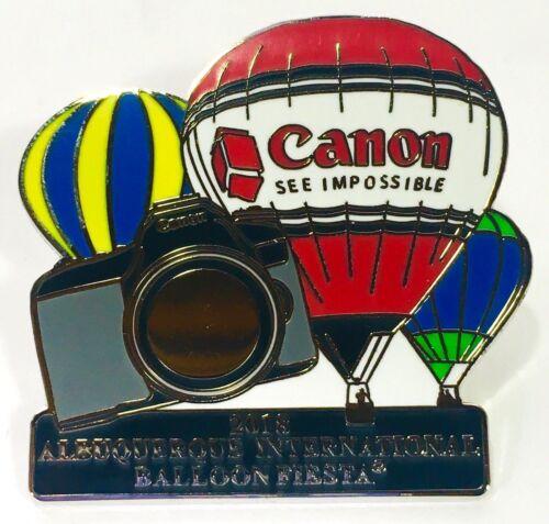 Canon 2018 International Albuquerque Balloon Fiesta Pin
