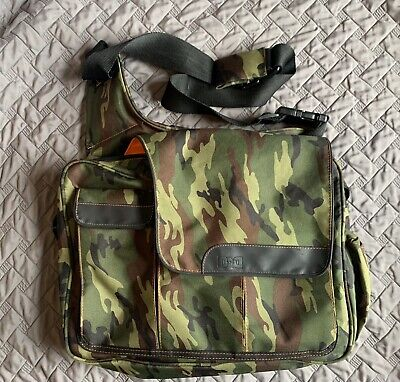 Diaper Dude Camo Diaper Bag Dad's Camouflage Man Messenger Baby