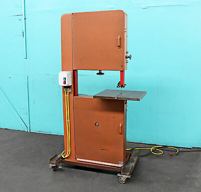 W. Whitney Stueck Connecticut Vertical Band Saw 24 Non-ferrous Metal-wood Ve...