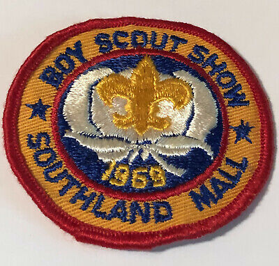 Boy Scout Show 1969 Southland Mall Memphis TN Patch FREE (Memphis Mall)