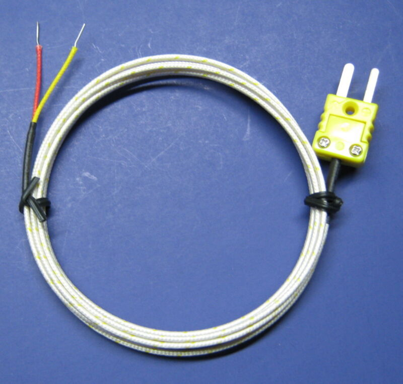 Connector Hook up Cable High Temperature k-type Ceramic Thermocouple Sensor CR4