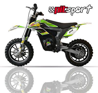 Mini moto eléctrica 500w niños pit bike infantil minimoto nuevas garantia patin