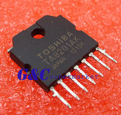 5PCS TA8201AK Original Pulled Toshiba Integrated Circuit NEW