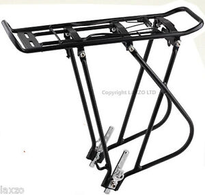 HEAVY-DUTY-Bicycle-cycle-bike-rear-Pannier-rack-carrier-20kg-26-27-luggage