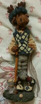 VINTAGE 1997 BOYDS BEARS & FRIENDS THE FOLKSTONE COLLECTION ZIGGY..THE DUFFER