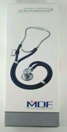 New MDF Black Sprague Rappaport Dual Head Stethoscope Adult, Pediatric, Infant