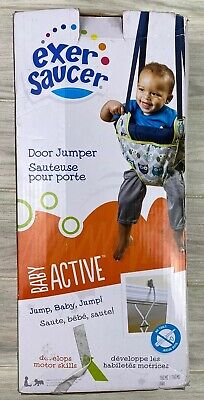 Baby Jumper Doorway Evenflo ExerSaucer Jumperoo Bumbly Exerciser Jump Bouncer