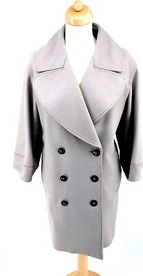 Burberry Prorsum V. Wool Blend Oversized Trench Coat Size S (Flexible Sizing) Wool Blend Trench