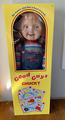 "Chucky Doll 30"" Inch Good Guys Spirit Halloween NEW In Box Child's Play 2"