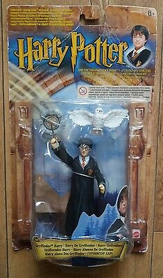 Harry Potter Action Figure Mattel Ultra Rare The Philosophers Stone Gryffindor