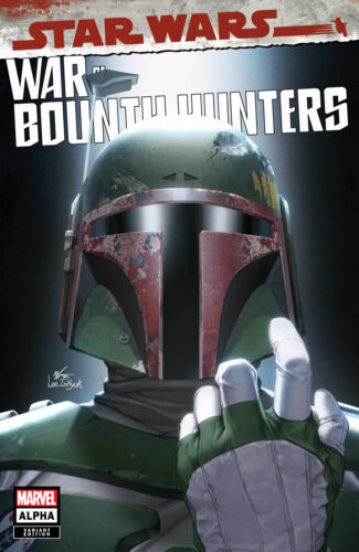 🔥 STAR WARS WAR OF THE BOUNTY HUNTERS ALPHA #1 INHYUK LEE TRADE DRESS VARIANT!