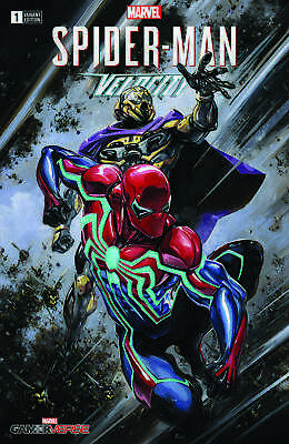 SPIDER-MAN VELOCITY #1 CLAYTON CRAIN VARIANT MARVEL COMICS PS4 GAMERVERSE W/COA