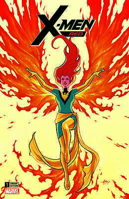 X Men Red 1 Audrey Mok Dark Phoenix Variant Jean Grey First Trinary Appearance
