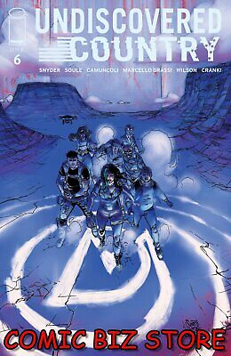 UNDISCOVERED COUNTRY #6 (2020) 1ST PRINTING CAMUNCOLI COVER A  IMAGE
