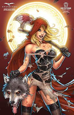 Grimm Fairy Tales of Terror 2018 Halloween Special 1/500 Keystone Comic Con NM](Halloween Comic Con)
