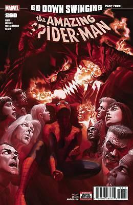 AMAZING SPIDER MAN #800 REGULAR COVER ALEX ROSS MARVEL COMICS NM HOT! (2018)
