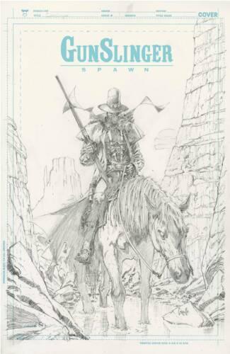 Gunslinger Spawn 1 Greg Capullo 1:50 Sketch Variant King Spawn Pre-Order 10/27