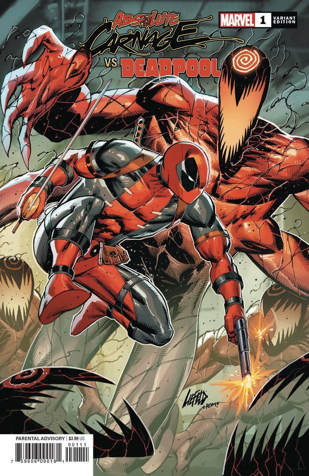 ABSOLUTE CARNAGE VS DEADPOOL #1 2 3Marvel ComicsSelect OptionNM Books