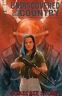 UNDISCOVERED COUNTRY #5 (2020) 1ST PRINTING NOTO VARIANT COVER B IMAGE