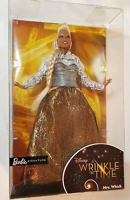 Barbie Wrinkle In Time Mrs Which Doll Disney Oprah Winfrey NRFB African American
