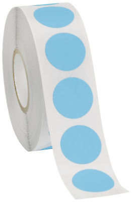 Self Adhesive Labels 34 Dot Circle Stickers Blue 1000 Labels 1 Roll Blank