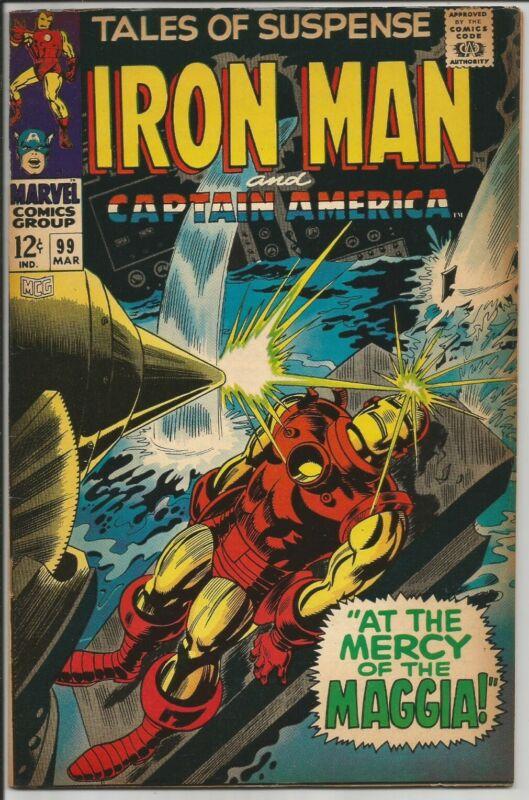 Tales of Suspense # 99 Marvel Comics Nice Copy