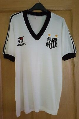 Vintage Santos football shirt Pele club