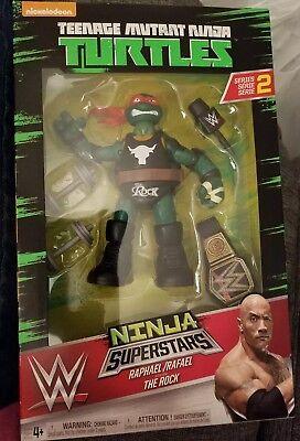 Teenage Mutant Ninja Turtles Ninja Superstars Raphael The Rock Figure 2017