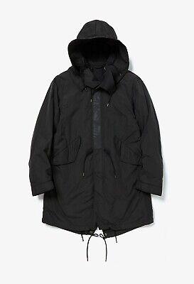 Ten C Hooded Parka Jacket in Black, size 50 - BNWT, RRP £650
