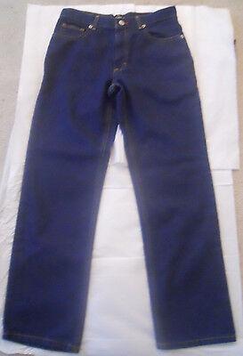 Ralph Lauren Polo Jeans Co Boys Classic Fit Zip Fly Blue Denim Jeans Size 12 Boys Classic Fit Jeans