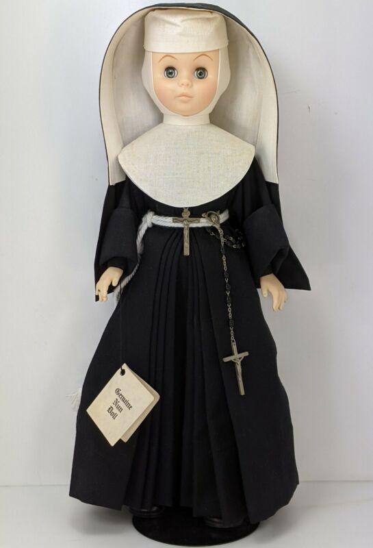 Sister of Francis Genuine Nun Doll 31-95 Vintage 1985 St Joseph MI 18-in Tall