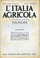 , L'italia Agricola N°10 - Mese Ottobre 1942 , -  - ebay.it