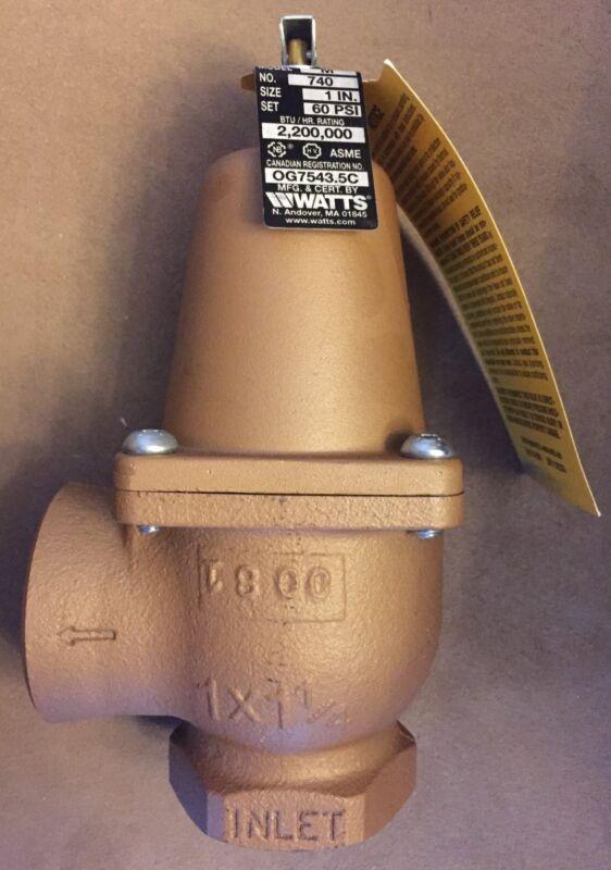 Watts water pressure relief vavle 1 740 060