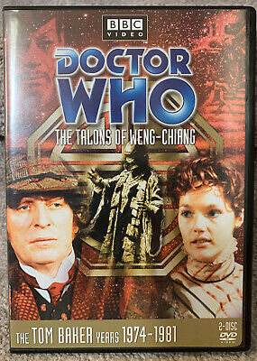 THE TALONS OF WENG-CHIANG - Doctor Who DVD Tom Baker Story 91 Season 14 R1