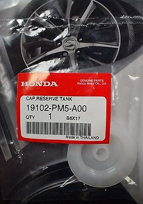 GENUINE OEM Honda coolant cap 19102-PM5-A00 Fits most Honda and Acura