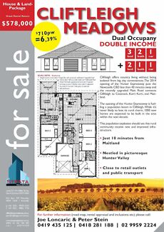 House & Land- Package $578,000 -  6,4% Income