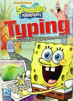 Spongebob Typing Pc Games Windows 10 8 7 Vista Computer Sponge Bob Kid Macintosh