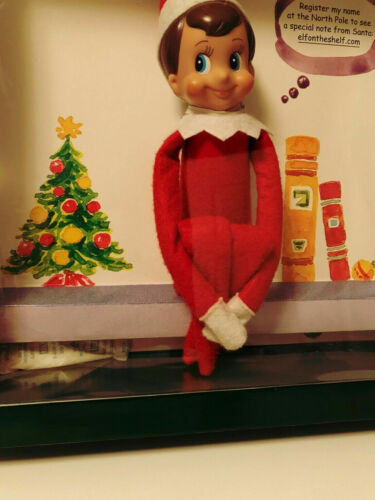 BRAND NEW The Elf on the Shelf BOY Doll ONLY Christmas Elf New **SHIPS FAST!**