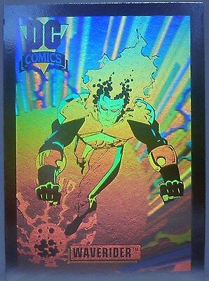 DC Cosmic Teams Hologram Hall Of Fame 1993 WaveRider DCH-10