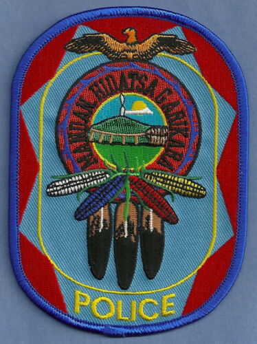 MANDAN HIDATSA & ARIKARA NORTH DAKOTA TRIBAL POLICE SHOULDER PATCH