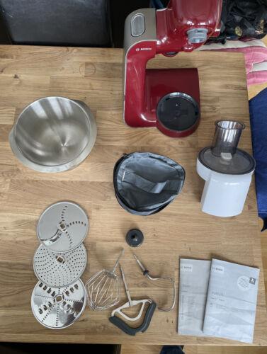 Bosch MUM 5 Küchenmaschine mit Multizerkleinerer 3 Schneidplatten Professionelle