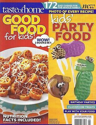 Classroom Party Ideas (Taste Of Home Magazine Good Food For Kids Party Ideas Birthday Classroom)