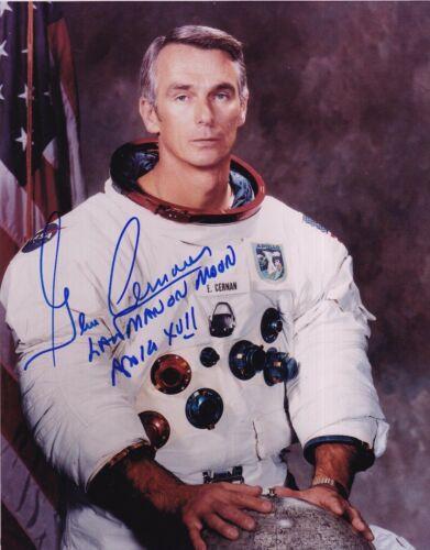 Gene Cernan Autographed Signed 8x10 Photo ( Apollo 17 ) REPRINT